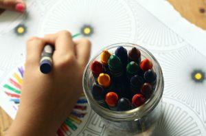 autism crayons